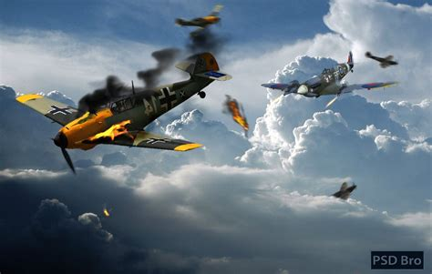 spitfire ii v vs bf 1472805763 spitfire vs messerschmitt by psdbro on