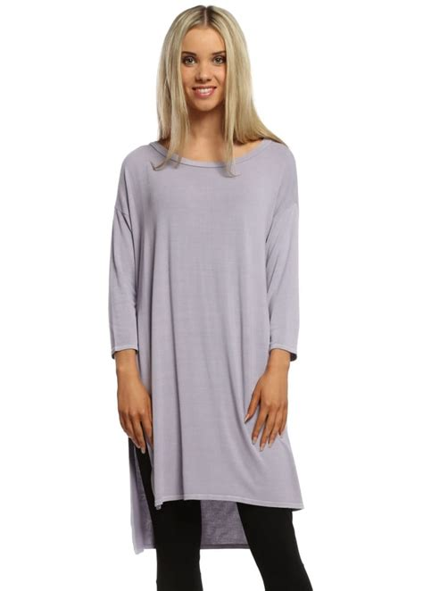 Flavia Top a postcard from brighton flavia slouch top lilac top