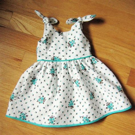 pattern matching dressmaking itty bitty baby dress tutorial and pdf also link for
