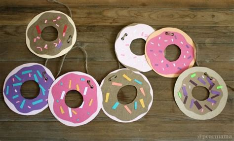 craft pictures for diy donut garland craft pictures photos and images for