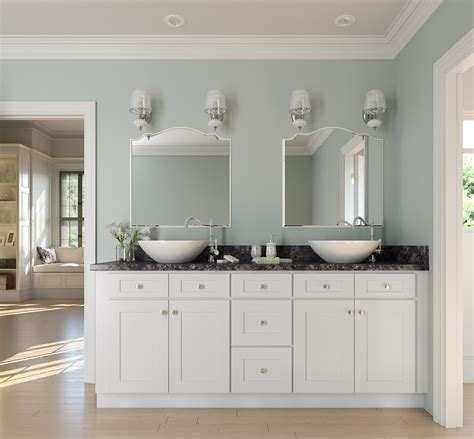 Frosted White Shaker Kitchen Cabinets Rta Cabinet Store