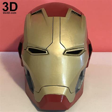 printable iron man helmet 3d printable iron man mark xlv helmet model mk 45 from