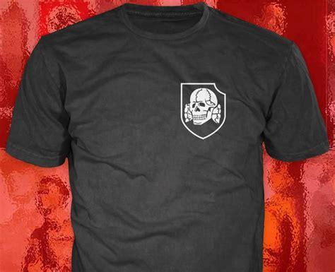 Tshirt Tottenkop totenkopf t shirt third reich posters