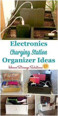 genius diy phone charging stations organization