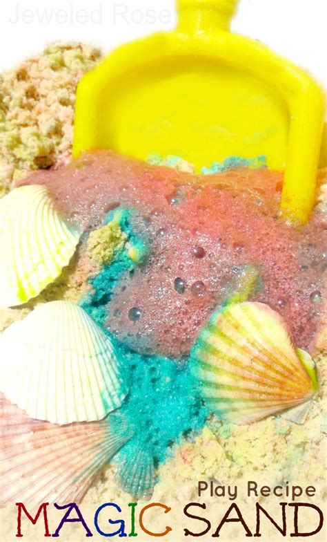 play sand for sand play recipes magic sand growing a jeweled rose