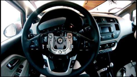 airbag deployment 2010 kia rio transmission control adding cruise control to 2013 kia rio lx youtube