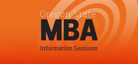 State Mba by Mba College Of Business Oregon State