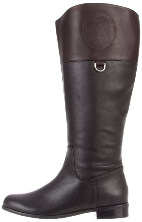 ros hommerson chip boot black brown leather wide calf