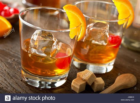 old fashioned cocktail garnish bitters cocktail stock photos bitters cocktail stock