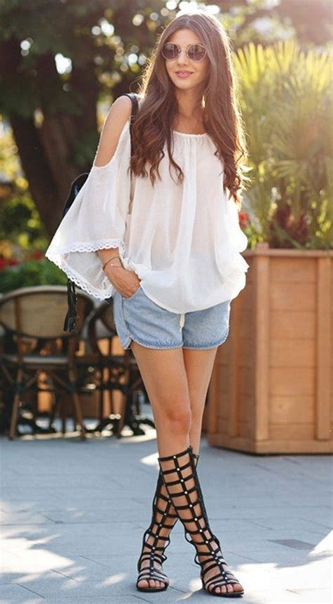 gorgeous denim outfit ideas  women ecstasycoffee