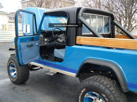 dierks bentley jeep 1983 jeep scrambler information and photos momentcar