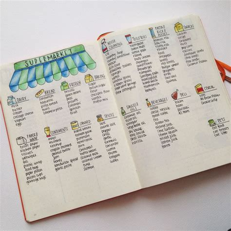 master chore list bullet journal with you the pages and spreads that i ve created