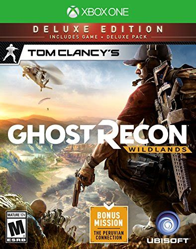 Bd Ps4 Ghost Recon Deluxe Edition tom clancy s ghost recon wildlands deluxe edition xbox