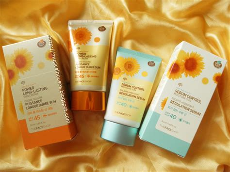 The Faceshop Sun Eco the shop sunscreens review and ingredients analysis