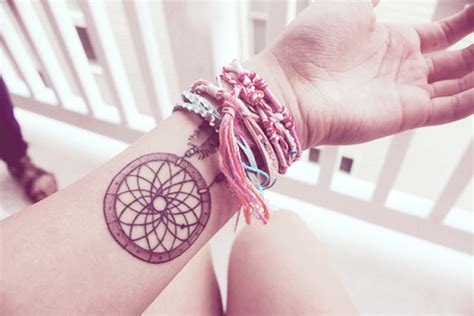 dreamcatcher wrist tattoo 166 dreamcatcher tattoos for a sleep