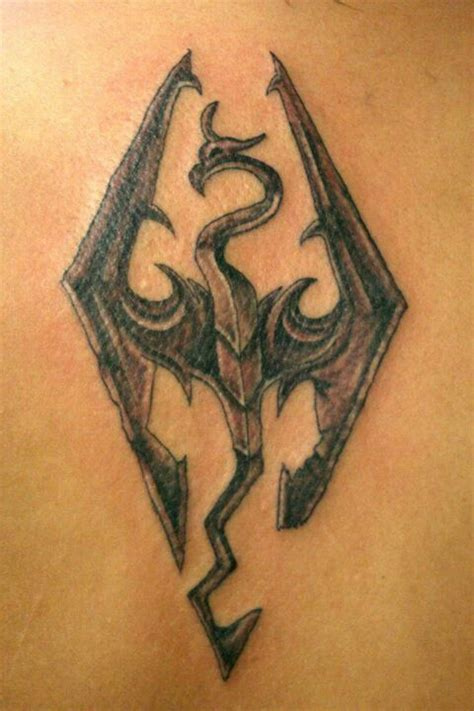 skyrim tattoo i need dis and skyrim on