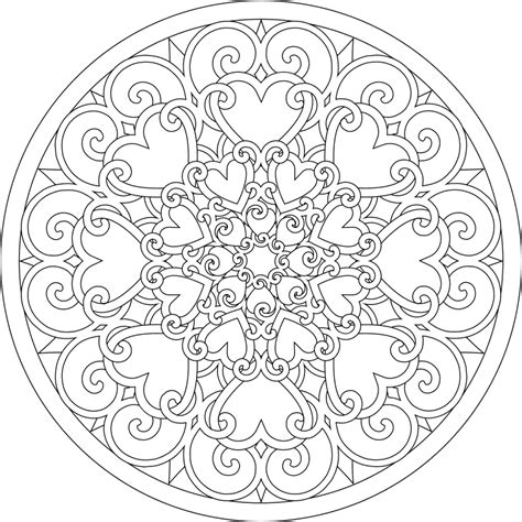 difficult mandala coloring pages printable difficult mandala coloring pages coloring home