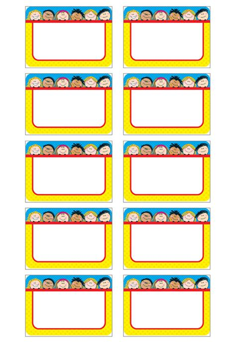 tag template   badge templates