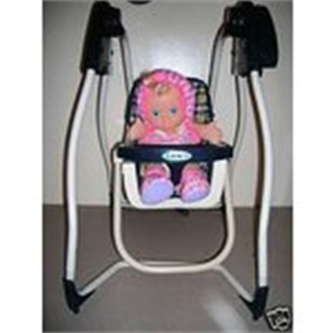 graco baby doll swing baby wiggles giggles graco baby doll swing used 07