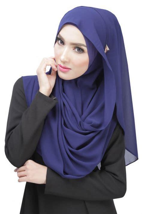 Zuleema 3 In 1 Muslim Set Pashmina Gaun Luaran Cape High Quali modern muslimah dress thicken chiffon halfmoon shawl s hijabs ms husna tudungs
