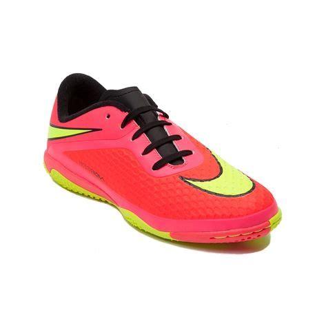 Blue Soldier Kidz So Youthtween Nike Hypervenom Athletic Shoe Orange