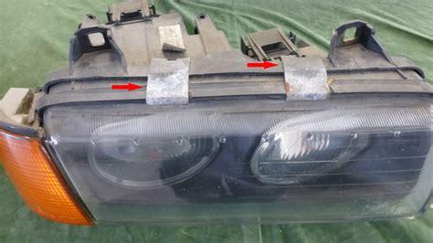Scheinwerfer Polieren Bmw by Bmw E36 Scheinwerfer Wechseln Und 252 Berholen