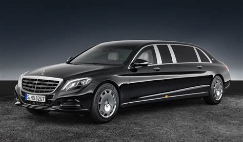 revealed 2017 mercedes maybach s 600 pullman guard