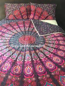 mandala tapestry quilt boho quilt hippie quilt indian style