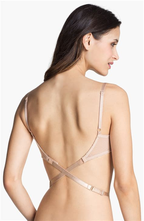 support your feminity with low back bra acetshirt