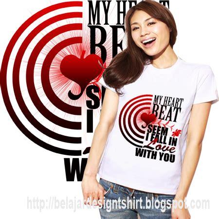 T Shirt Kaos Just Run koleksi psd desain kaos heartbeat t shirt design