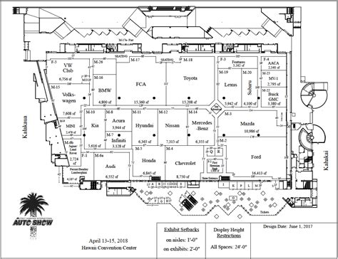 hawaii convention center floor plan hawaii convention center floor plan best free home