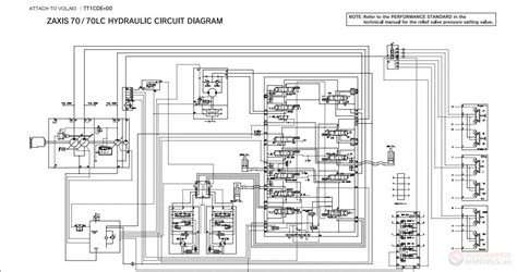 hitachi zaxis 70 70lc hydraulic circuit diagram auto