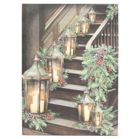 ohio wholesale lighted canvas ohio wholesale 47051 winter season lighted canvas