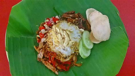 resep nasi jinggo bali asli enak gurih resep  masak