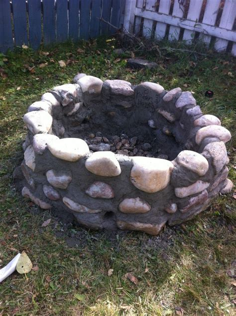 pit with rocks pit design ideas