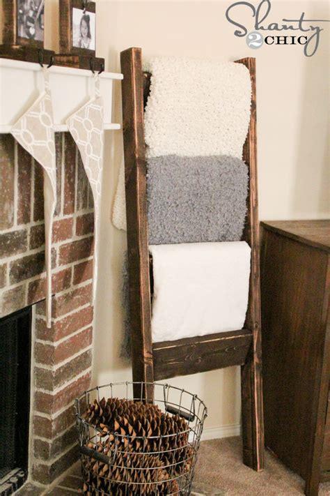 wooden blanket ladder pictures   images