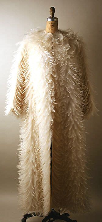 big thing 1970s and feathers on pinterest evening coat 1970 norman norell american 1900 1972