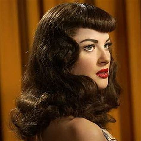 1950 hair styles with bangs 50 hairstyles for long hair