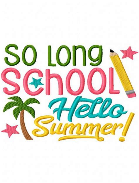 schools out clipart schools out summer clipart school out summer pencil and in