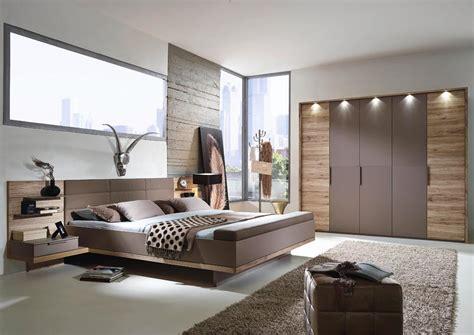 braune möbel schlafzimmer schlafzimmer schrank bett sanremo eiche fango grau braun