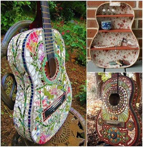 design recycle ideas 5 ideas to recycle old guitars and let them rock once more