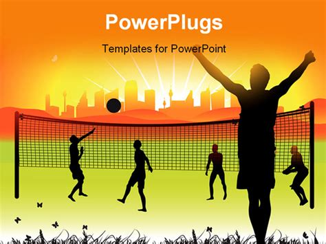 powerpoint themes volleyball 7 best images of volleyball backgrounds for powerpoint