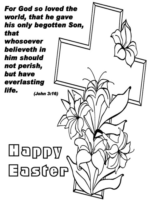 coloring page for children pascua childrens christian