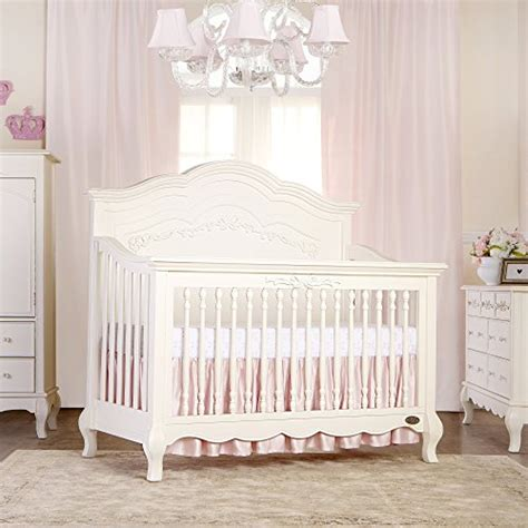Ivory Baby Crib Evolur 5 In 1 Convertible Crib Ivory Lace Furniture Baby Toddler Furniture Toddler Bed