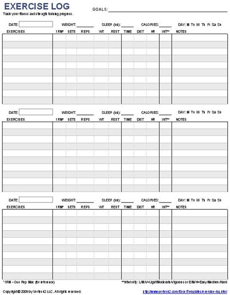 fitness plan template weekly 25 best ideas about exercise chart on
