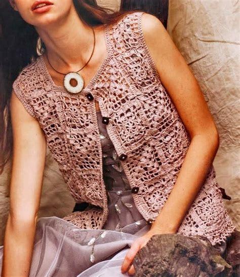 pattern crochet vest womens 19 best granny square vest images on pinterest crochet