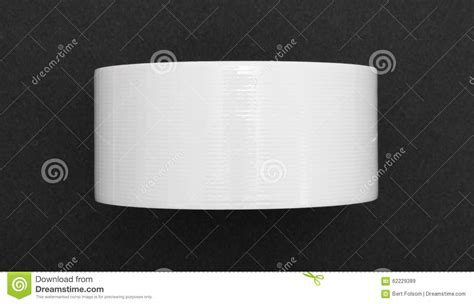 Roll Of White Craft Paper - new roll of white duct on black craft paper stock