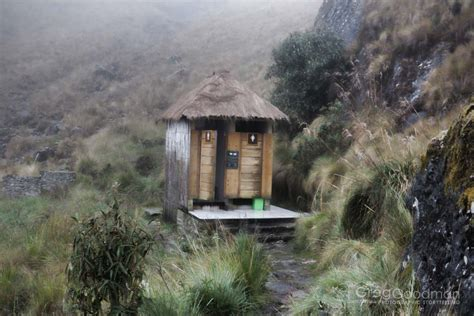Inca Trail Bathroom by Everyday On The Inca Trail 187 Greg Goodman Photographic Storytelling