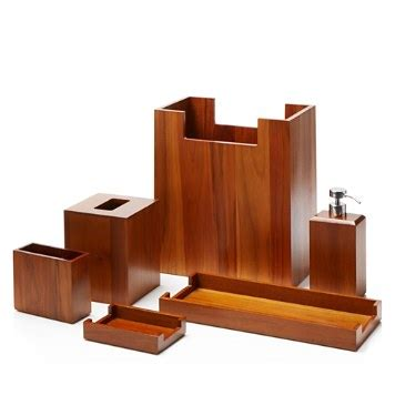 hudson park teak bath accessories bloomingdale s