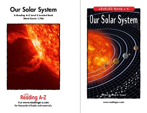 where is our solar system books solar system a z